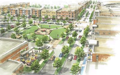 River District Jackson Blvd. by Martins rendering