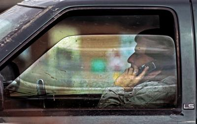 Distracted driving photo