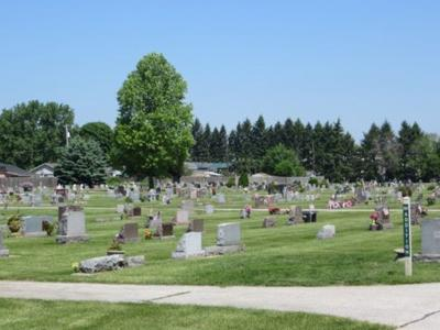 Grace Lawn Cemetery in Middlebury featured in Stories of Elkhart