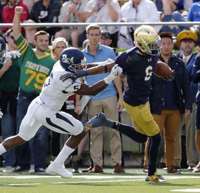 Kizer leads No. 18 Notre Dame to 39-10 win over Nevada