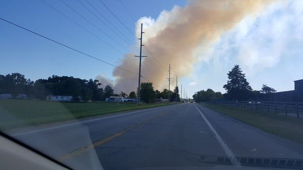 Mottville mulch fire to burn 'for another week or so,' township was well aware of fire risk at site