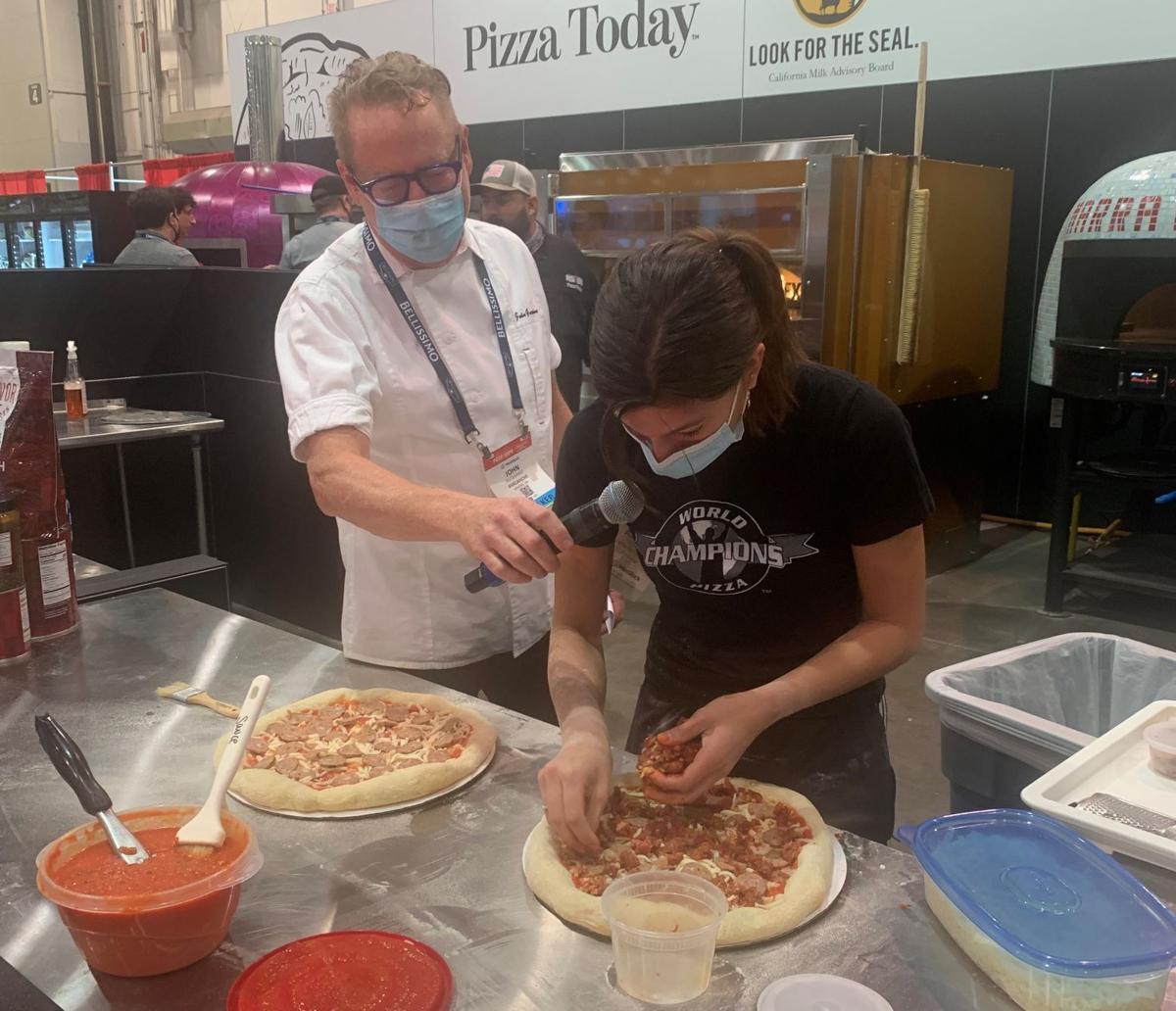 Teen pizza-maker captures regional title1