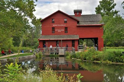 Museum conducts night tour of historic mill
