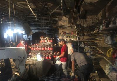 Suspect arrested in Cueramaro Supermarket fire