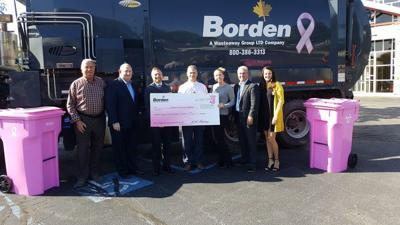 Borden Waste-Away, customers donate to Cancer Care