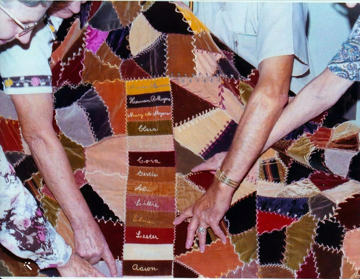 Myers family quilt 2