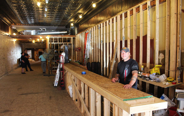 Firefighters working to open downtown pub