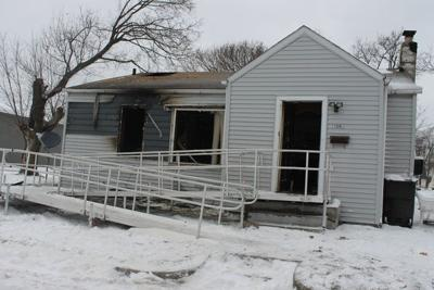 No injuries reported in Elkhart house fire