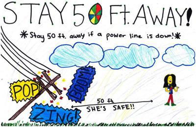 Fourth-grader's artwork bound for billboard