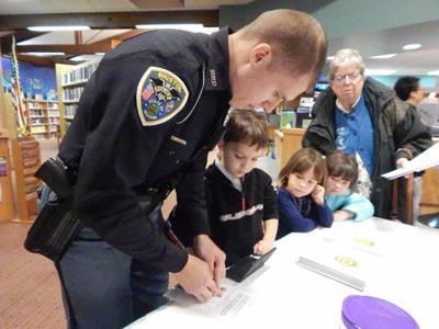 Bristol fingerprints kids for safety