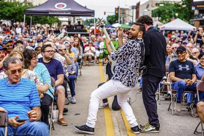Adam Hawley 2019 Elkhart Jazz Festival, Vala Marketing