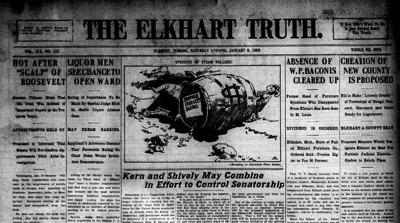 Elkhart Truth Jan 9, 1909, county issue