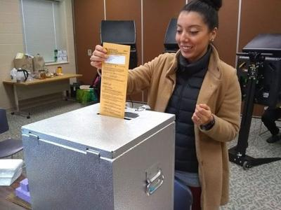 Early voters get it done