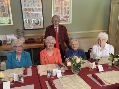 Elkhart High School class of 1941 80th anniversary reunion