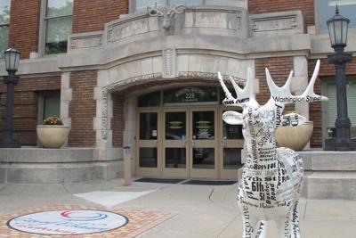 Elkhart City Hall entrance