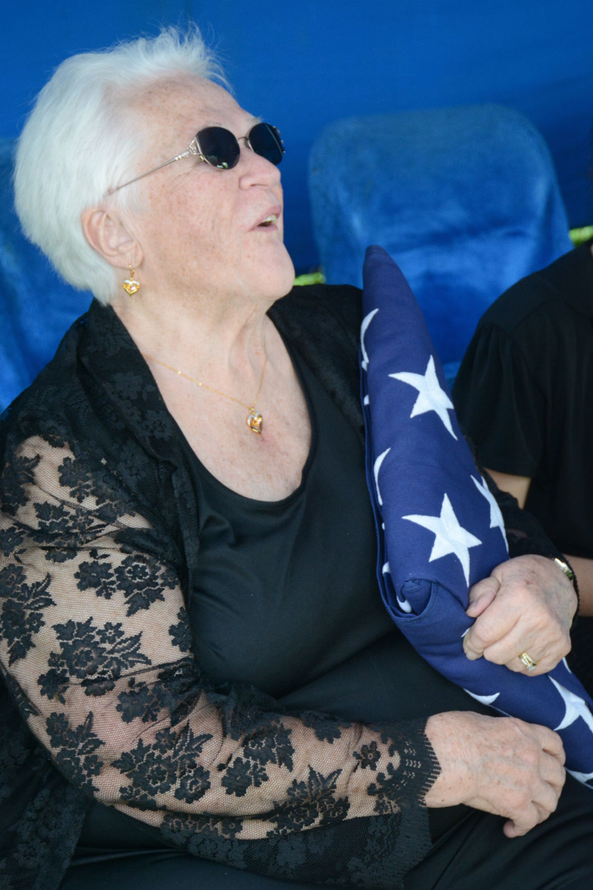Graveside service held for Clarence Hershberger, who survived sinking of USS Indianapolis during World War II