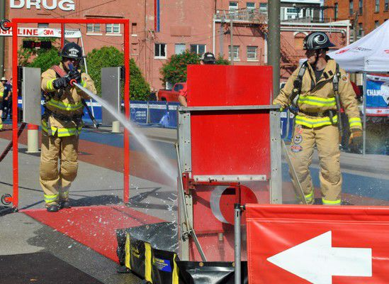 Promoting firefighter health, strength