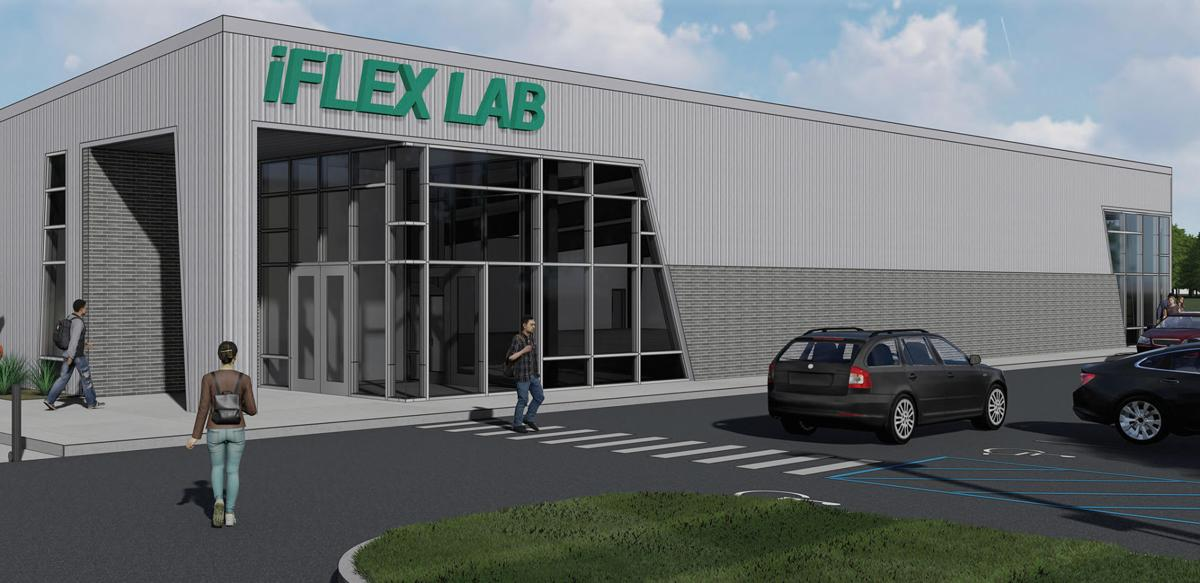 iFlex Lab outside rendering
