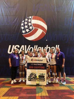 Local NIVA team claims national championshp