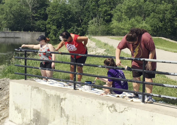 Goshen high students spend their last day of school volunteering