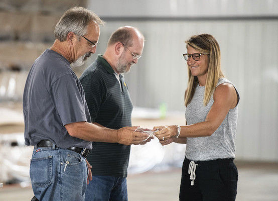 Keystone RV employees honored for service, dedication