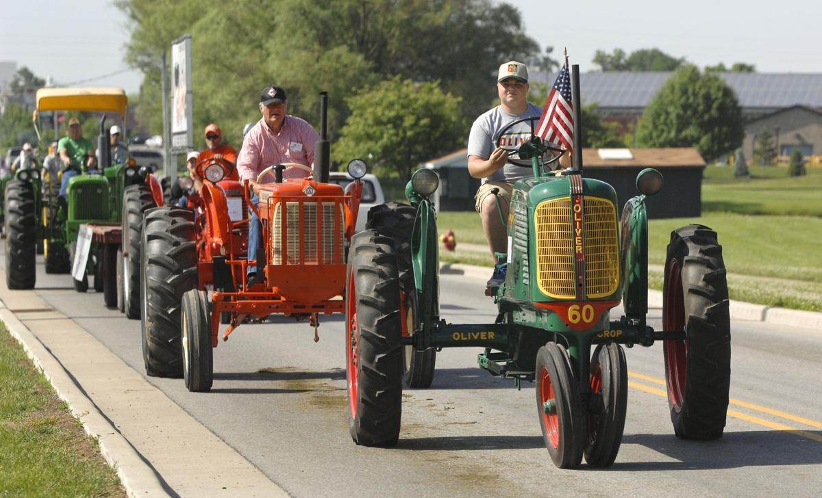 United Cancer of Elkhart County Antique Tractor Cruise-In 2015 will be June 13 in Nappanee