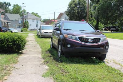 Ban on parking in grass hits detour
