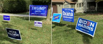 yard signs photo