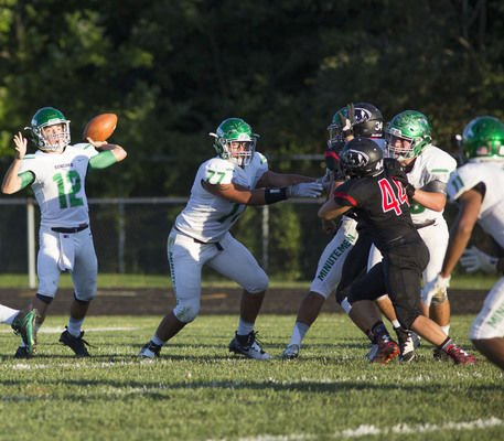 NorthWood football's Ingle and Brugh are small, but they fight big