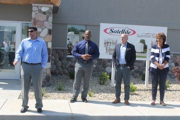 Company, community celebrate plant expansion
