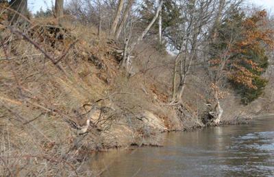 Riverbank erosion raises concerns