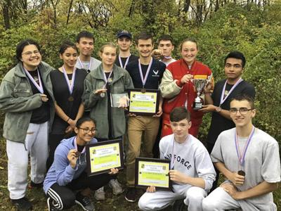 Elkhart JROTC finishes third in state finals