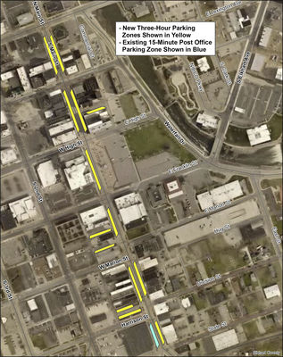 Downtown parking time limits extended