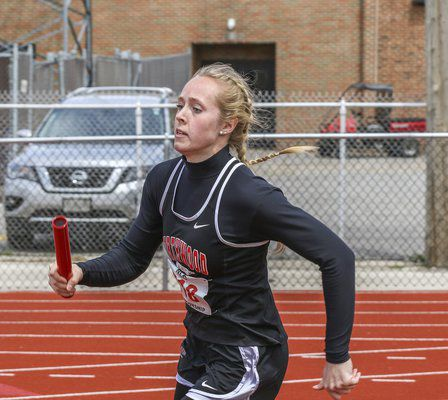 Adversity doesn't stop Hershberger on the track