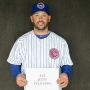 South Bend Cubs hitting coach Jesus Feliciano passing along his passion for baseball