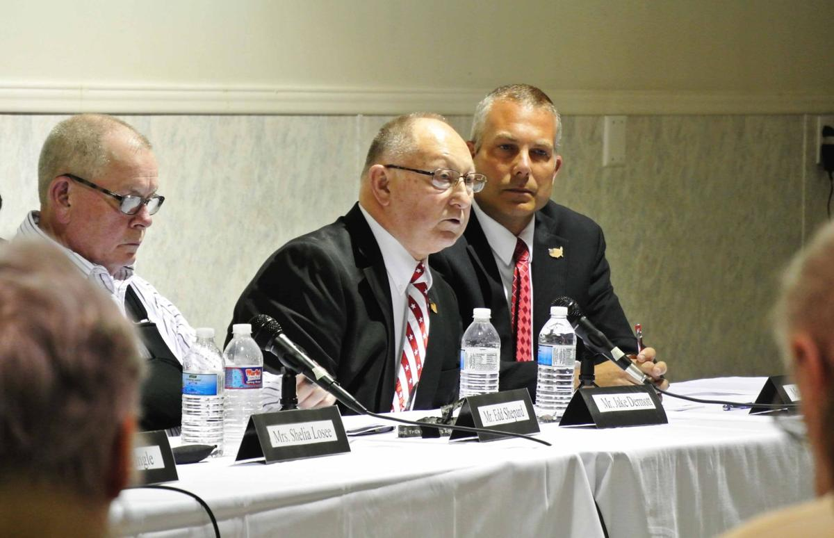 Nappanee candidates talk with residents about business, downtown growth, during forum