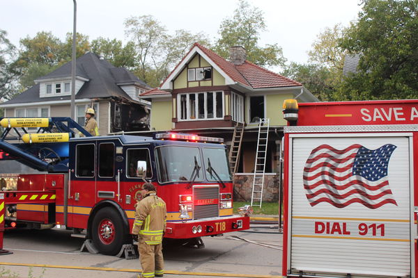 Three injured in 3rd Street house fire