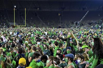 APTOPIX Clemson Notre Dame Football