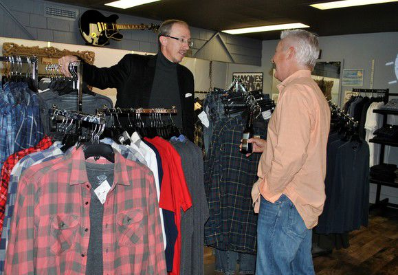 Menswear offered at Stephenson's