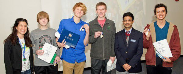 Northridge teams top Trine math competition