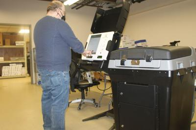 Voting machines tested