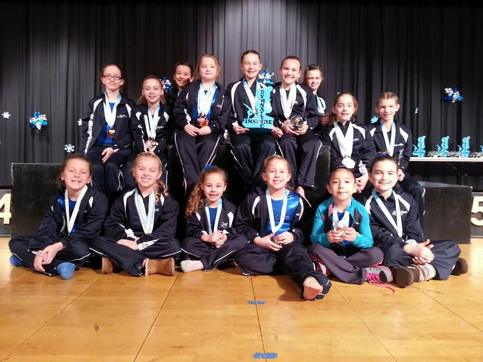 The Club wins two titles at Inspire Athletics Classic gymnastics meet