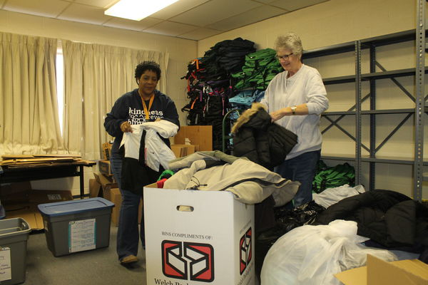 United Way distributes coats to local students