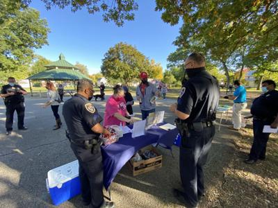 Police meet and greet at Weston Park