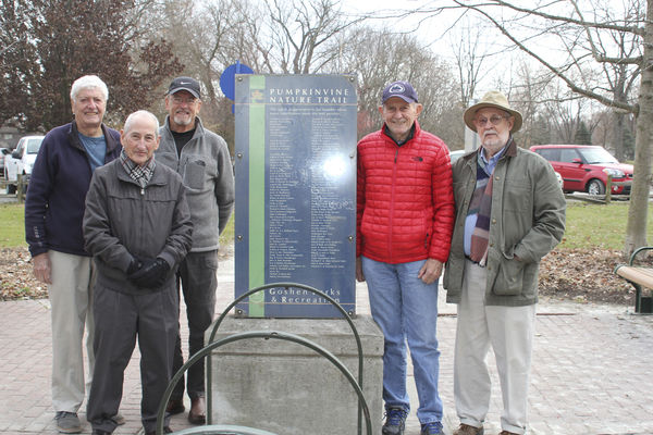 Pumpkinvine Nature Trail founders mark anniversary