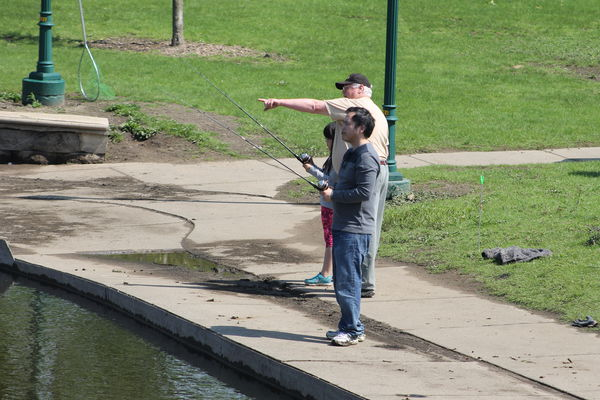 A day to learn how to fish