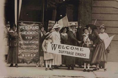 Women's suffrage photo