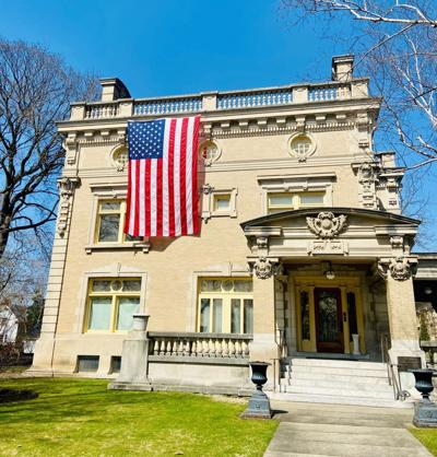 Ruthmere Museum flag day