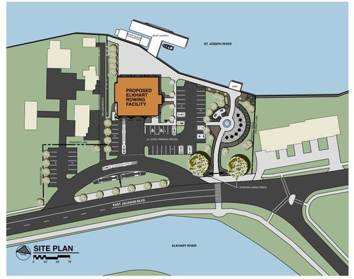 County commissioners endorse rowing club plan