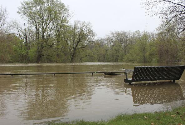 Flooding causes closures, ruins varsity field